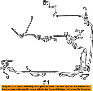FORD OEM 2008 Escape 3.0L-V6 Wiring Harness-Wire Harness 8L8Z14290LB | eBay | 05 Ford Escape 3 0 Engine Wire Harness Diagram |  | eBay