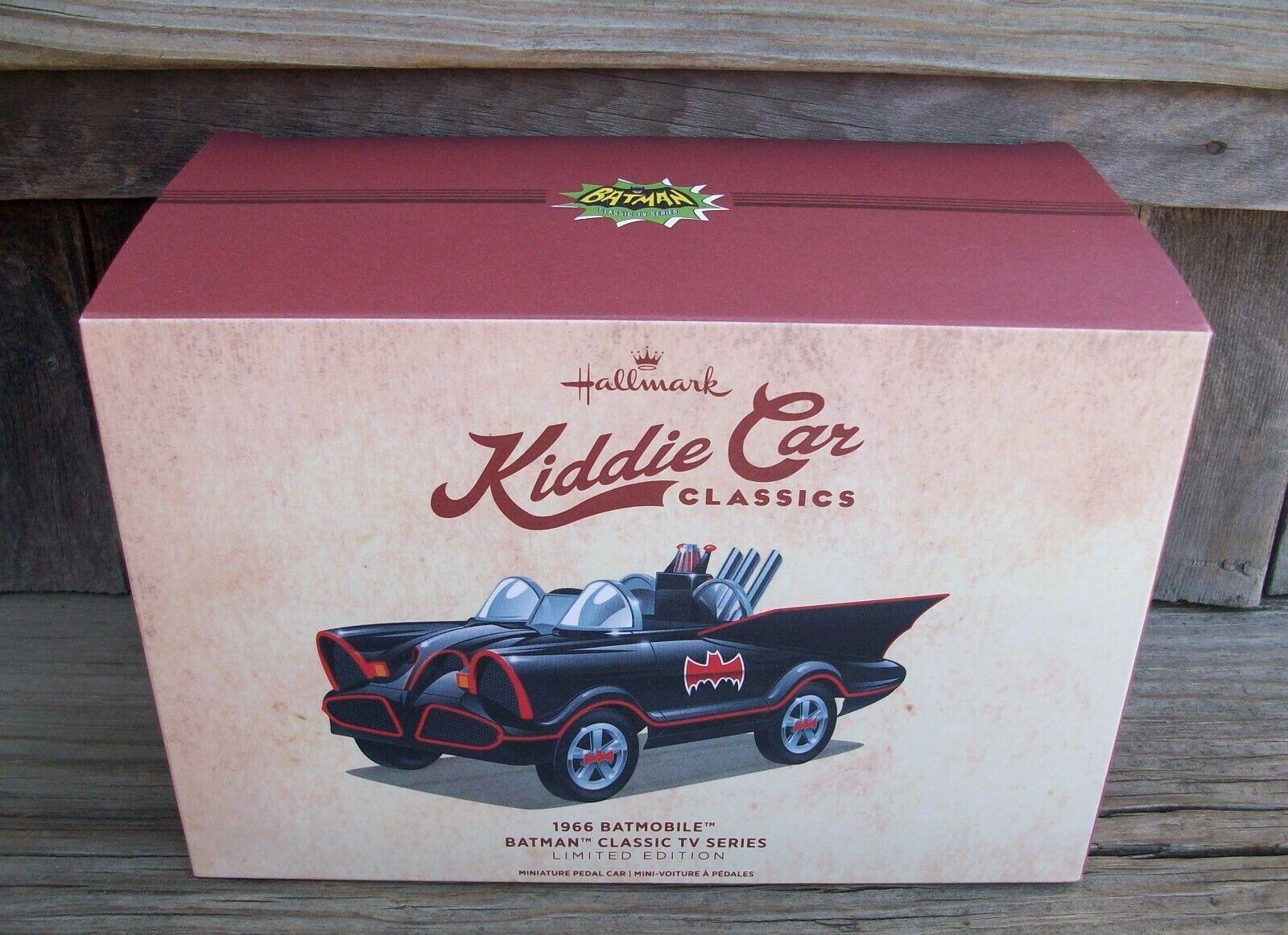 Hallmark 1966 Kiddie Car Classics Mini Batmobile Pedal Car Batman George Barris