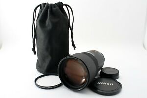 Read-Nikon-AF-Nikkor-180mm-F-2-8-ED-Telephoto-Lens-w-Pouch-MIJ-Tested-5525