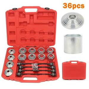 36PCS-Pull-Kit-Sleeve-Remover-Installer-Master-Seal-Bushes-Bearings-Press-UK
