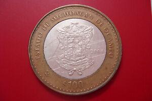 Mexico 100 Pesos Michoacán de Ocampo 2004