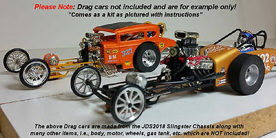 JDS Slingster 1/24 Drag Slot Car Chassis Kit | eBay