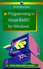 Programming in Visual Basic for Windows by Phil Oliver, Noel Kantaris (Paperback, 1995)