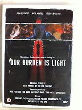 OUR BURDEN IS LIGHT ~ 2004 Nate Mendel Foo Fighters Cult Film | UK DVD + CD