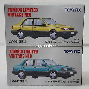 Tomytec Tomica Limited Vintage LV-N125 Isuzu Gemini Patio Subcompact Car Model