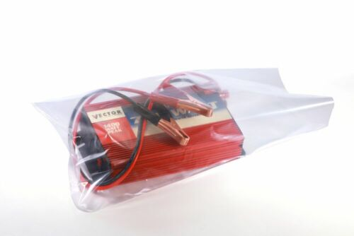DMSE Clear Layflat Poly Bags 4 mil 6X16X004 1000//CTN
