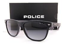 Brand New POLICE Sunglasses S 1953M 0NKE Matte Dark Grey/Smoke Gradient