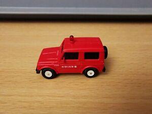 (D5) Rietze H0 1:87 Suzuki SJ 410 Feuerwehr