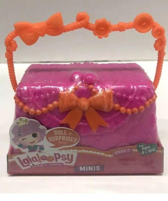 Lalaloopsy Series 4 Minis Pink Purse Container MGA Entertainment