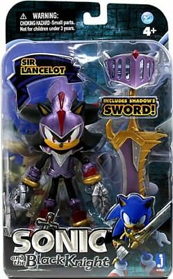 Sonic And The Black Knight Sir Lancelot Shadow Action Figure Purple Armor 681326658283 Ebay