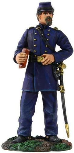W Britain 31212 Civil War Senior Federal Staff Officer with Portfolio