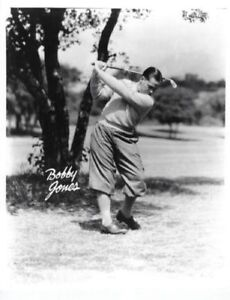 Details About Classic Swing Bobby Jones 8x10 Photo Pga Hof Usa Golf