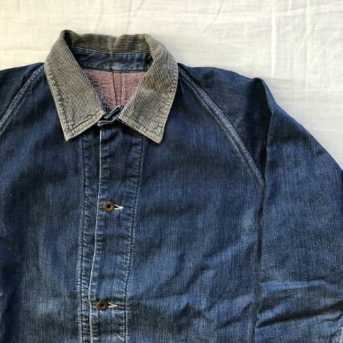 Vintage 1940's Payday Denim Coveralls Jacket Outer