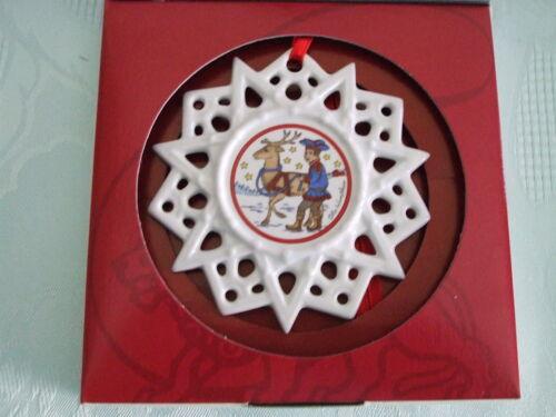 Hutschenreuther Schmuckstern Kirche Laterne Ren OVP Weihnachtsglocke Glocke