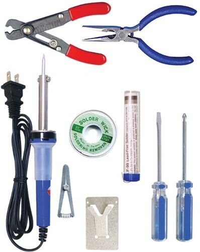 Elenco TK-14 Electronics Technician Starter Kit 9-Piece