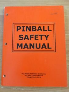 Manual-de-seguridad-Williams-Pinball