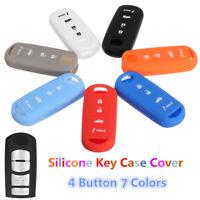 4Button Silicone Remote Key Cover Case For MAZDA 3 6 MX5 CX-5 CX-7 CX-9-SCION-IA