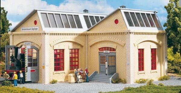 Efficace Piko 63003 Hall De Quais Göpplingen, Kit De Montage, Échelle 1 à Tout Prix