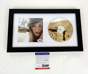 Kelly-Clarkson-Signed-Autograph-Breakaway-CD-Framed-PSA-DNA-COA