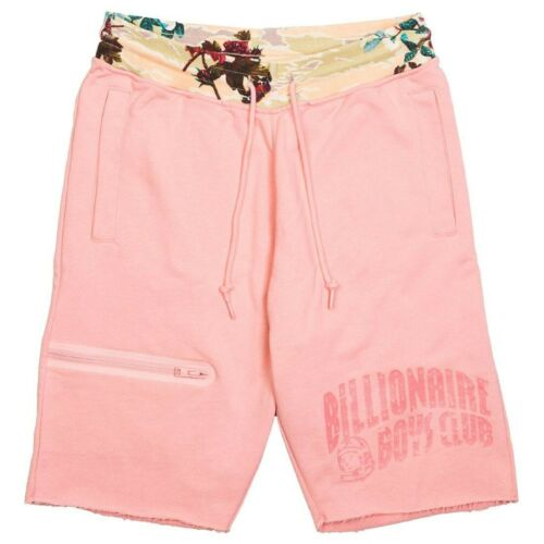 Billionaire Boys Club BB Symbol Sweatshorts in Pink Icing Sz M L XL 881-2100