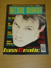 RECORD MIRROR 1990 DEC 8 BASS O MATIC RUN DMC KID FROST
