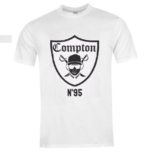 Eazy E Compton Raiders T SHIRT Unisex TEE TOP /'/'BEST QUALITY/'/' BLACK-GREY-WHITE