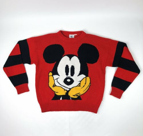 VTG Disney Mickey & Co Mickey Mouse Sweater Size M