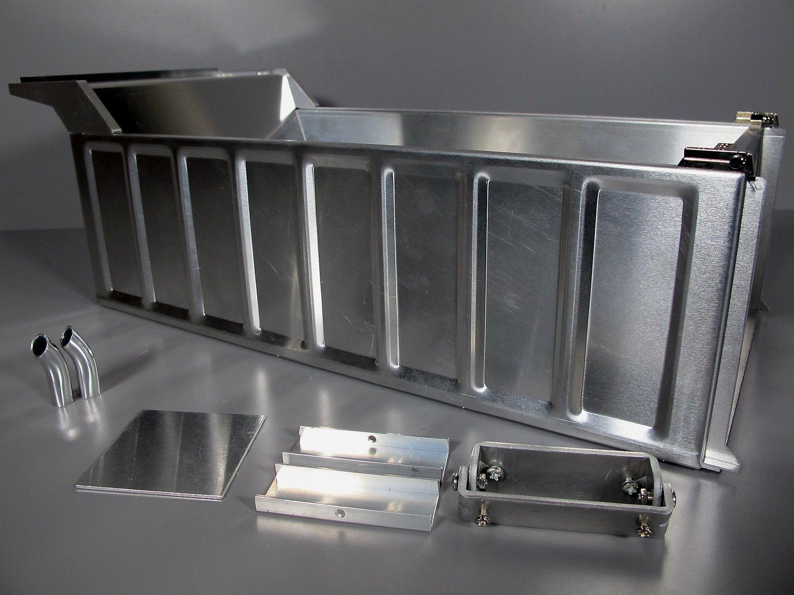 Nuovo Aluminum Dump Bed Conversion Kit Tamiya 1/14 R/C King Grand Hauler Aeromax
