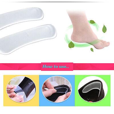 Trazador de líneas de tacón invisible escudo de gel de silicona de agarre Cojín Zapato proteger par #382-8