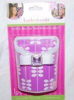 Locker Lookz Limited Cool For School Locker Purple Leaf