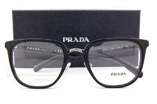 Brand New Prada Eyeglass Frames 10TV  1AB 1O1 Black for Men Size 51