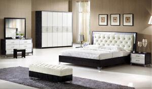 Image Is Loading Venus Black And White Italian Super King Bedroom