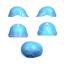 Portwest Hi Vis Reflective Helmet Hard Hat Stickers Work Safety Reflectors PA91