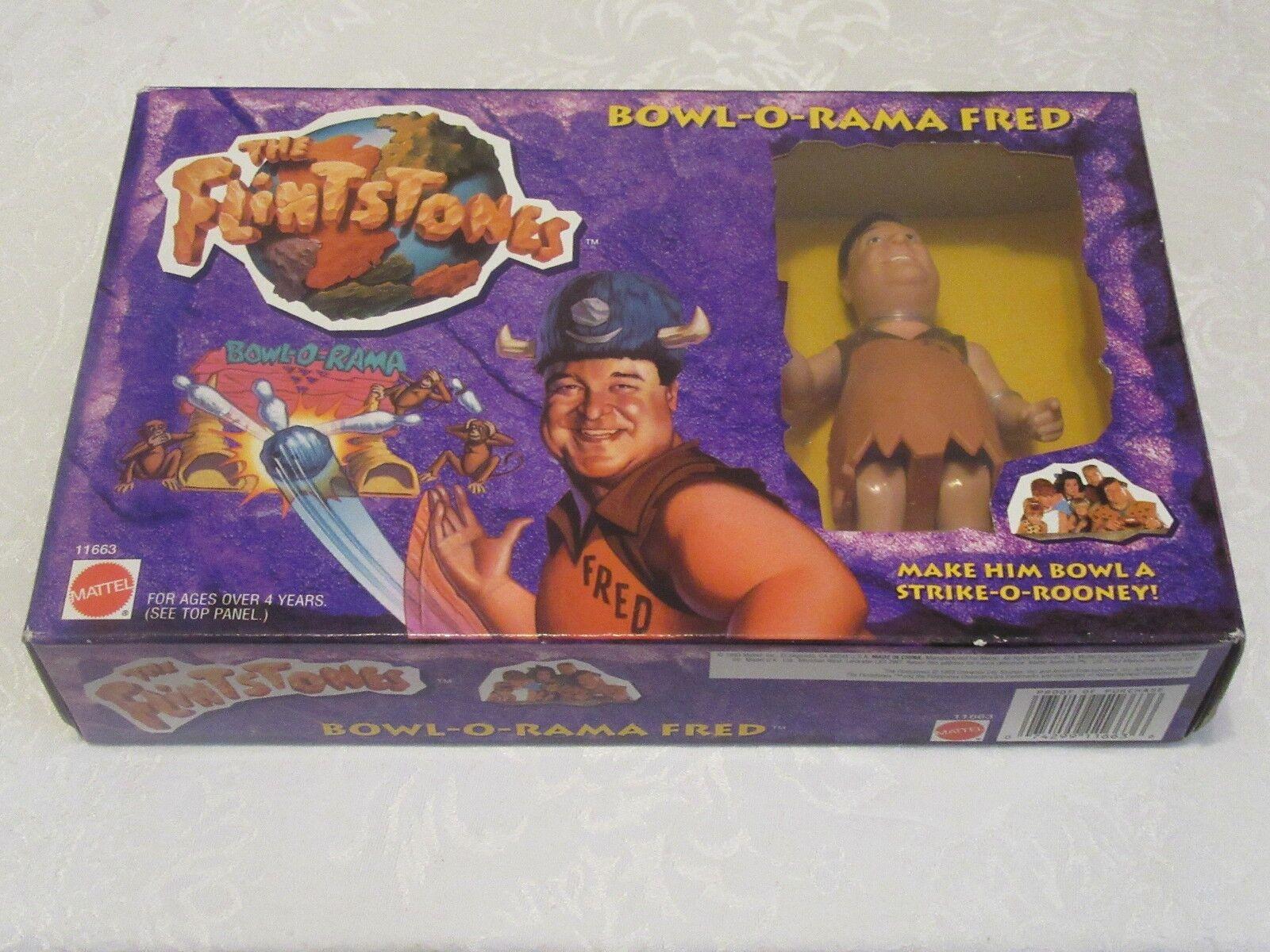 Mattel The Flintstones Bowl-O-Rama Fred Flintstone John Goodman Action Figure Figure Figure d58f80