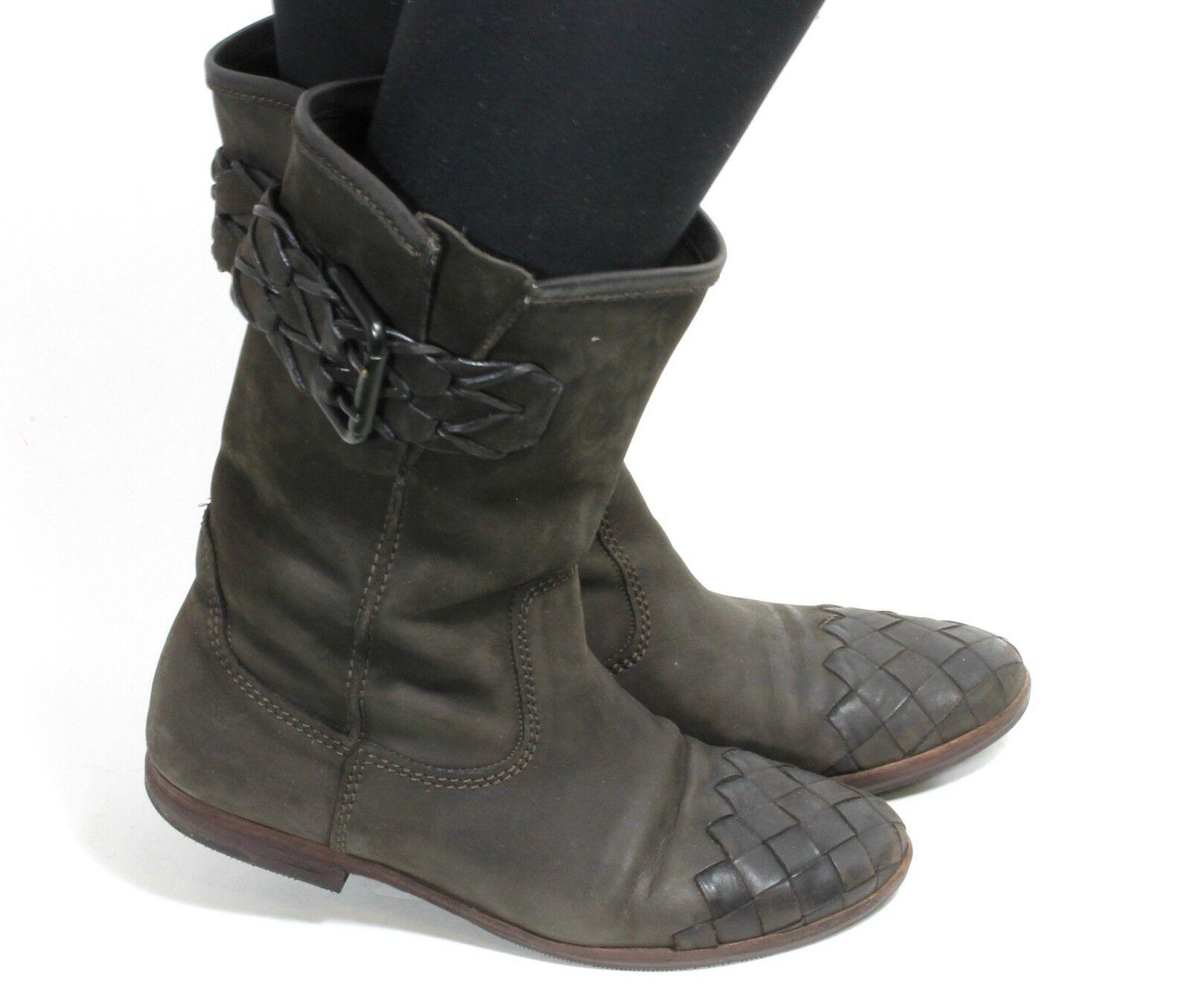 Damenstiefel Vintage Stiefel Blogger Kennel Hipster Flats Kennel Blogger & Schmenger Velours 38 918bde