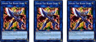 1st Edition DANE-EN043 - Common 3 x Gouki The Blade Ogre
