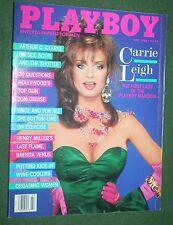 Playboy July 1986 Carrie Leigh POM Lynn Austin Arthur C. Clarke interview