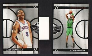 2008-09-Topps-Co-Signers-Basketball-Changing-Face-CF28-Garnett-CF21-Iguodala