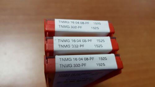 SANDVIK TNMG 332-PF 1525 10pcs TNMG 160408-PF 1525