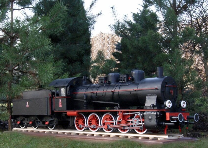 Prussian G 10 Tender Locomotive 1 25 without   with Lasercut Modelik 02 16