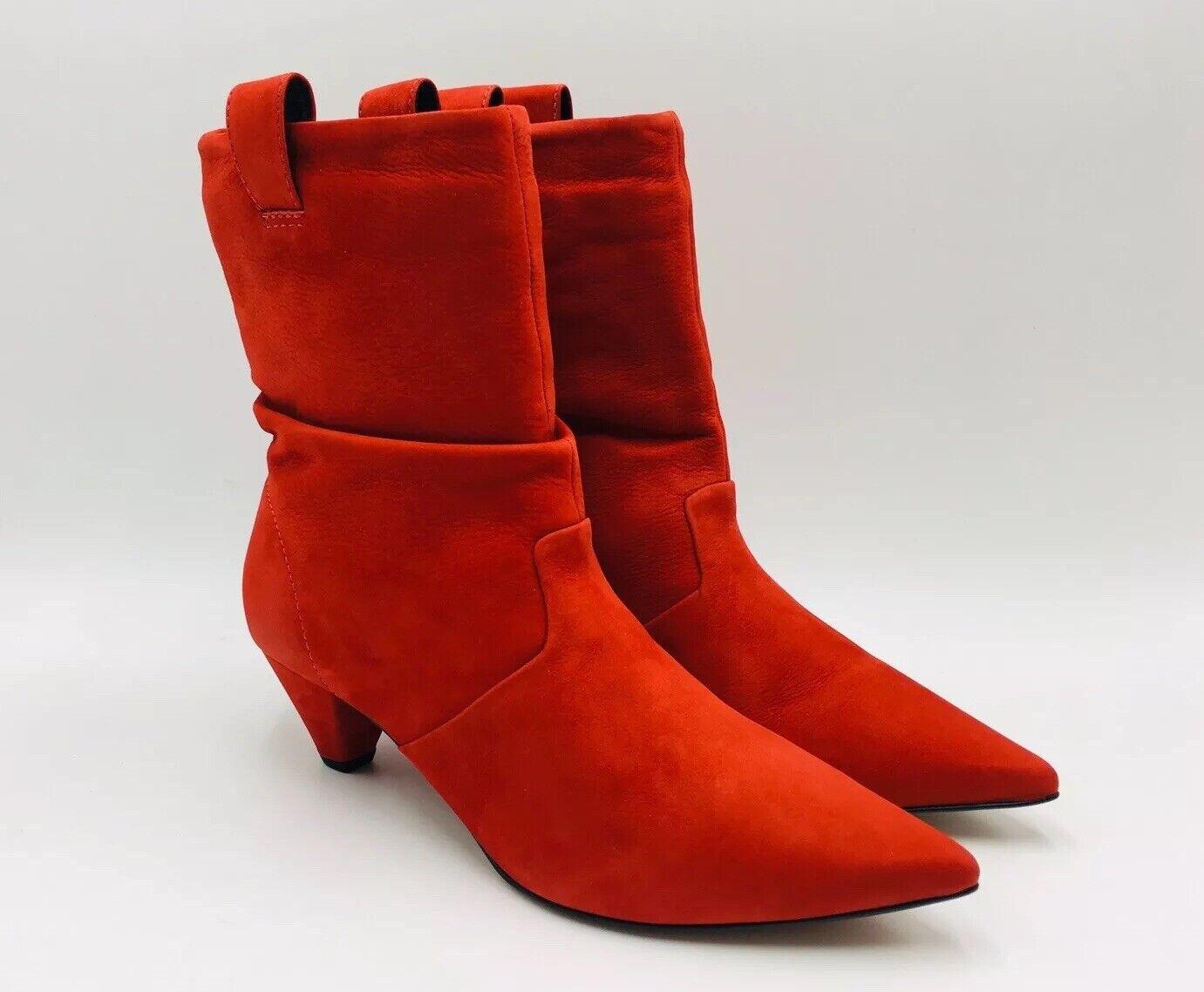 Lf La Vida Para Mujeres Ciruela tirar-en botín occidental M Rojo, precio de venta sugerido por el fabricante