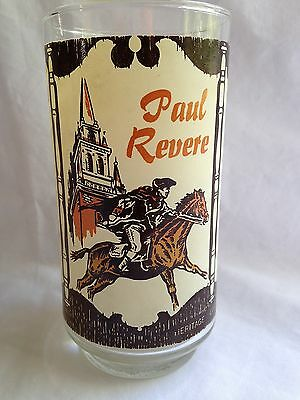 Coca Cola Glass Spirit of 1776 Paul Revere Independence Vintage Collector Coke