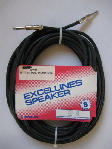 """Pro Co Sound Cable S14-50 1//4/"""" Male 50/' ft GUITAR 14awg /""""NOS AUDIO MONO Made USA"""
