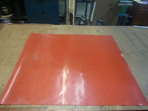 """SILICONE RUBBER SHEET 1/8 THK X 36""""WIDE x36"""" LONG FREE SHIPPING"""
