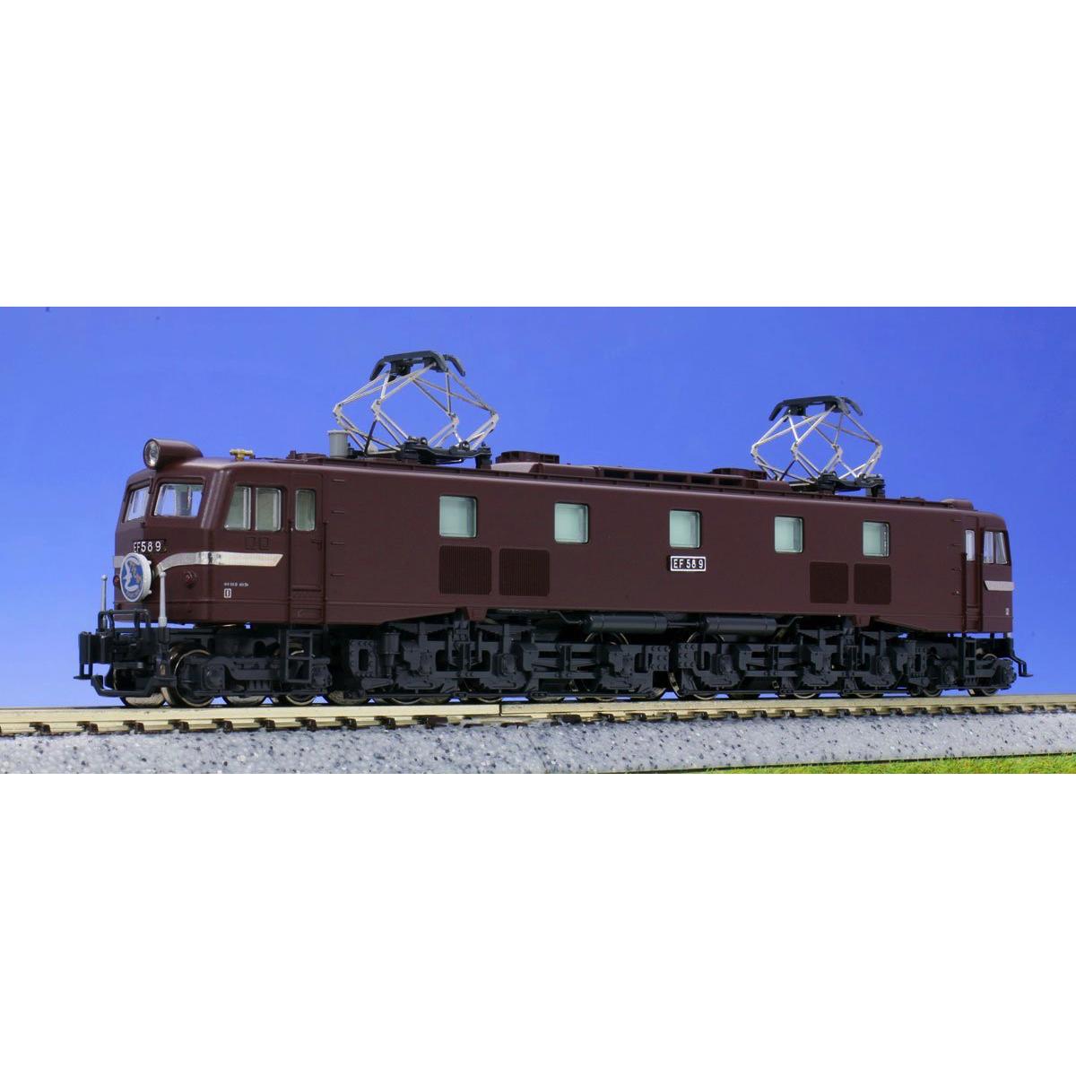 Kato 3055-1 Electric Locomotive EF58 marrone Early - N