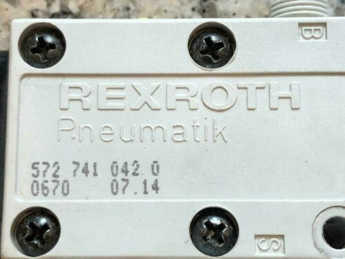 Rexroth Pneumatik 572741 Regelventil 72 741 042 0 Druckregler