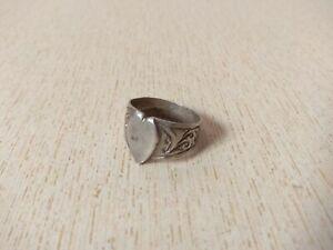 antique ring- Sahara ring Size 9 antique silver Berber  ring silver ring moroccan ring- Berber ring enamelled ring tribal ring