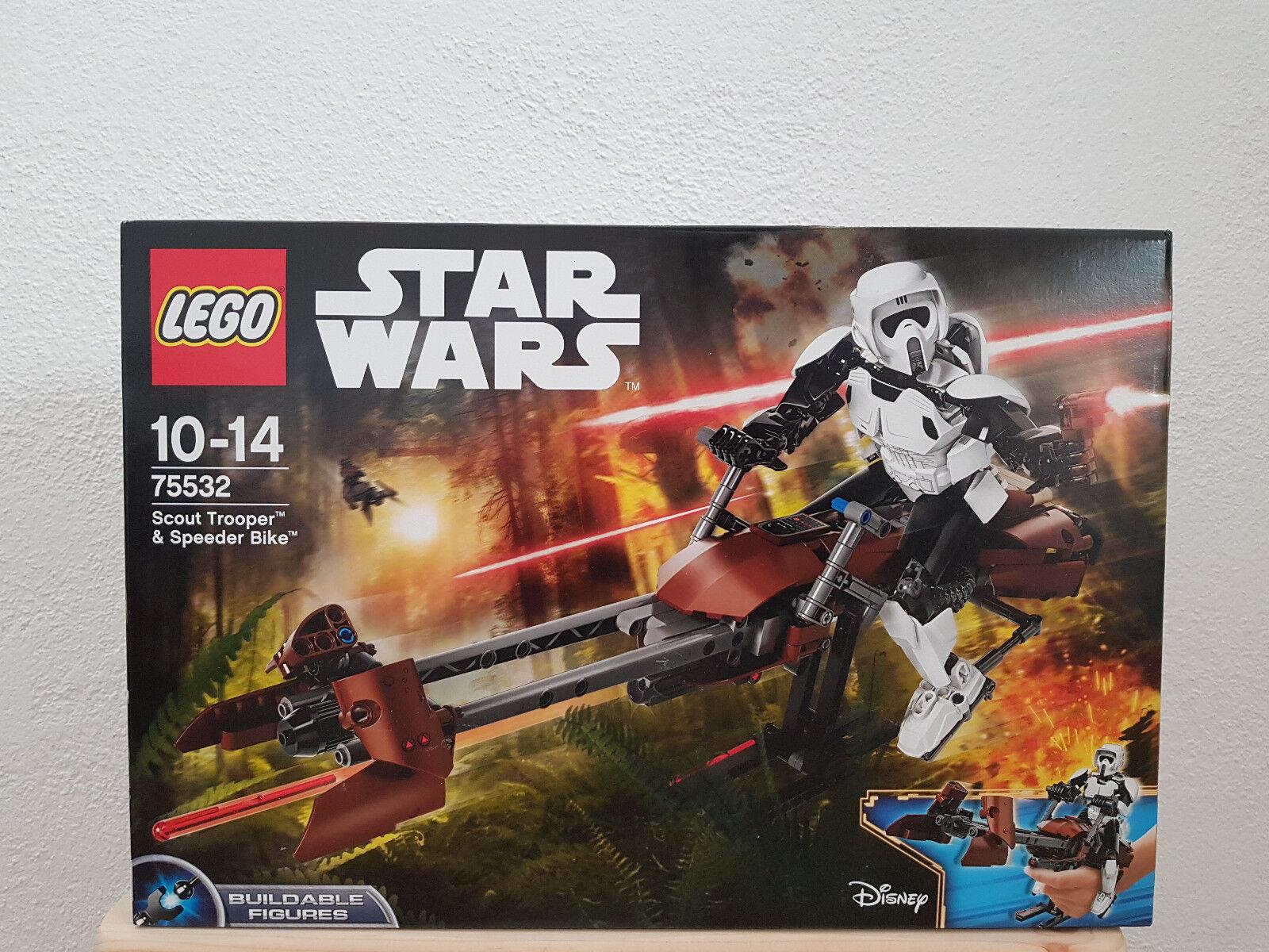 LEGO Star Wars Scout Trooper & Speeder Bike (75532) (Neu in OVP)