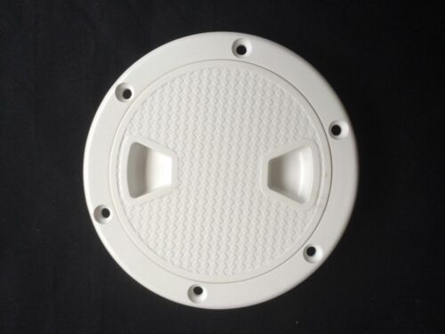 """Marine 4/"""" Round Access Hatch Cover Screw Out Deck Boat Hatch"""