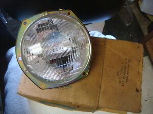 nos 72 73 ford courier headlamp assembly with bulb wiring d27z rh ebay com